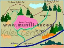 Valea Comorilor din Muntii Bucegi