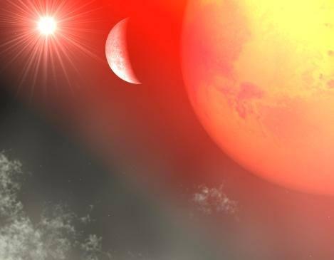 Planetă cu apă din afara Sistemului Solar