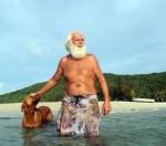 David Glasheen trăieşte de 27 de ani pe o insulă pustie