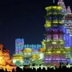 Festival de sculptură în gheaţă din Harbin