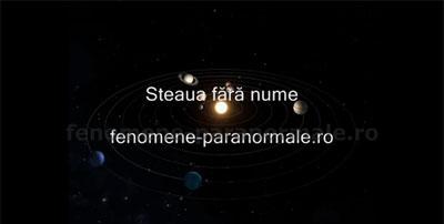 Steaua fără nume