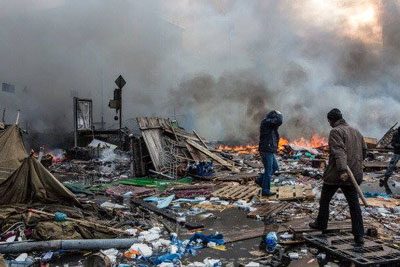 Ucraina în ruine